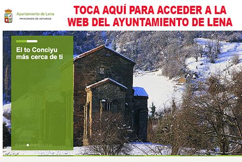 Web Ayuntamiento de Lena